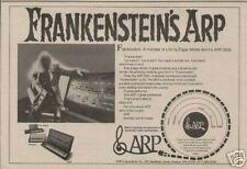 1973 EDGAR WINTER'S FRANKENSTEIN ARP 2600 AD