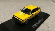 Fiat 128 coupe sport (Fiat 128 3P) yellow (Norev) 1/43 !!!RARE!!!