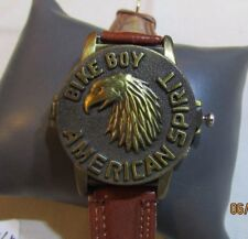 Motor Bike Boy AMERICAN SPIRIT LUXSTAR WATCH  F84