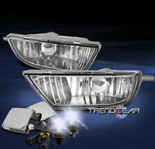 1998-2003 TOYOTA SIENNA BUMPER DRIVING FOG LIGHTS LAMPS CHROME W/8K HID+HARNESS