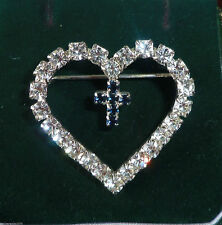 Alloy CZ Costume Brooches & Pins