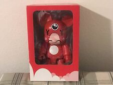 "8"" DALEK QEE RED YEN OXOP TOY2R VINYL FIGURE SIGNED BOX"
