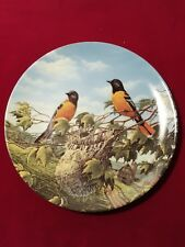 Edwin M. Knowles Collector China Plate - Baltimore Orioles in Summer 1991