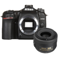 Nikon D7500 20.9MP DSLR Camera with AF-S DX NIKKOR 35mm f/1.8G Lens