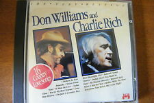 CD Don Williams And Charlie Rich 16 Country Love Songs