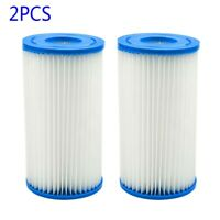 2PCS For Intex Easy-Set Type A Or C Pool Filter Cartridge Replacement Parts