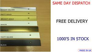 Kitchen Worktop SQUARE End Cap Edging Trims 40mm SILVER-BLACK-GOLD-BRONZE-WHITE