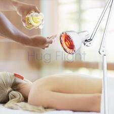HOT Infra Infrared Red Heat Lamp Adjustable Temp Burn Fat Slim Massage Beauty CE