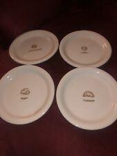 Williams Sonoma Set Of 4 Breakfast Food Design Breakfast / Dessert Plates