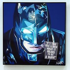 Batman 2016 canvas quote wall decals photo painting pop art poster