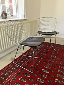 Harry Bertoia wire chairs - Knoll?