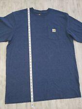 Carhartt men's T-shirt Xl- Tall color blue