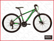 Bici Mountain Bike taglia 26 telaio 44 nero-verde 76490