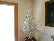 Vintage ALUMINUM SPARKLER 4 FT. CHRISTMAS TREE Complete in Box - Excellent #1