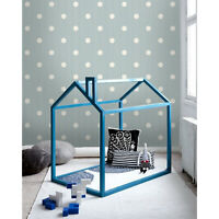 Polka dots Removable wallpaper gray and white wall mural large