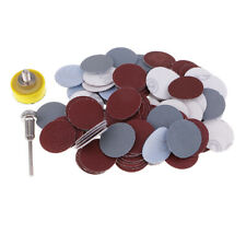 """1"""" Hook & Loop DISC Sanding Pad Kit With 100pcs Sand Paper for Rotary Tools"""