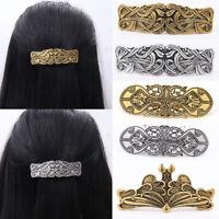 Vintage Metal Alloy Hair Clips Charm Women Girls Headwear Hair Pin Accessories