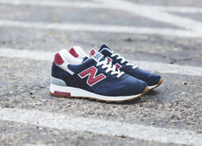 NEW BALANCE Navy Blue Suede M1400CU Classic UNISEX Made In USA Sneakers 38