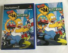 The Simpsons: Hit & Run / Empty Case & Manual Playstation 2 PS2 Original Box #2