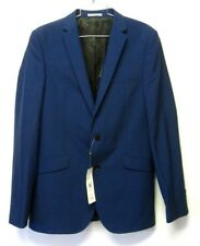 KIN by JOHN LEWIS Blue JACKET/BLAZER Stamford Tonic Sb2 SLIM FIT sz 38L NWT