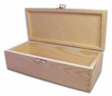 Holz-Schatulle, Holzkiste, Kassette, Box, Kiefer unbeh.