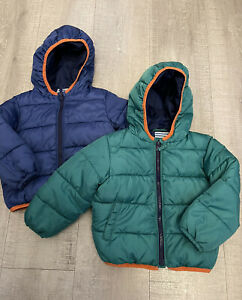 JOHN LEWIS. Boys Quilted Winter Coats. Bundle / Twins. Age 12-18mth