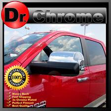 10-17 Dodge Ram 1500+2500+3500+HD Triple Chrome Top Half Tow Towing Mirror Cover