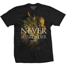 World of Warcraft Men's Tee: Never Surrender T SHIRT LARGE OFFICAL MERCHANDISE