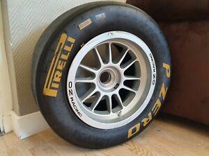 Rare Pneu jante Formula Championship Alpine Monaco/formule 1 f3 pirelli oz wheel