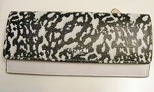 NWT Coach 51483 Bleecker Soft Wallet In Exotic Leather