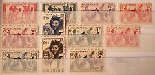 1939/46-Colonie Francesi-Mauritania-F.Bolli del 1938 (serietta)-MNH**