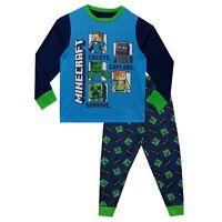 Minecraft Pyjamas | Kids Minecraft Steve Ghast Pyjamas Set | Boys Minecraft PJs