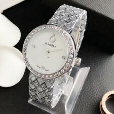 Новые модные часы аналоговый кристалл нержавеющая сталь pandorase часы
