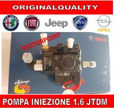 POMPA INIEZIONE ALTA PRESSIONE BOSCH  FIAT ALFA LANCIA OPEL 1.6 JTDM SENZA RESO