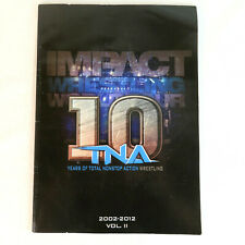 2012 TNA Impact Wrestling Live Event Program with Autographs AJ Styles ODB Tara