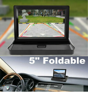 5inch LCD TFT Color HD Monitor for Auto Car Reverse Rear View Backup Camera DVD