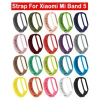Muticolor Silicon Strap Belt Bracelet Wristband Replacement For Xiaomi MI Band 5