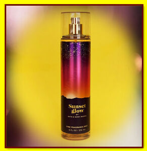 Bath & Body Works SUNSET GLOW Women Fine Fragrance MIST SPRAY 8 OZ/236mL NEW