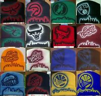 NBA Team Airbrushed Beanies NEW Skull Cap Skyline