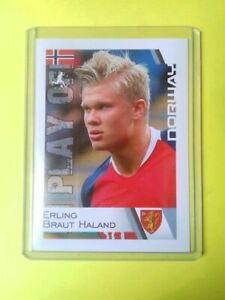 Erling Braut Haaland NORWAY Rookie RC EURO 2020 School Shop # 228