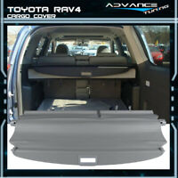 Fits 06-12 Toyota RAV4 OE Style Retractable Grey Rear Security Cargo Cover