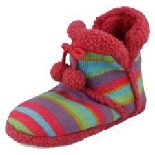Zapatillas de andar planos textiles por casa de mujer