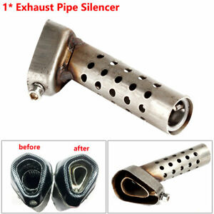 Universal Adjustable Killer Silencer Motorcycle Exhaust Muffler Pipe DB Baffle