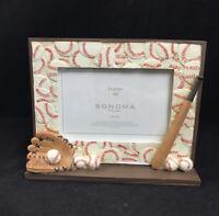 Sonoma 3D Resin Baseball  Photo Freestanding Picture Frame