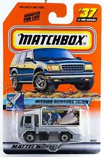 Matchbox #37 Mission Scissors Truck With MB 2000 Logo New On Card