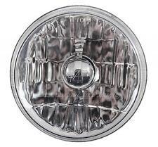 "5-3/4"" Motorcycle Crystal Halogen Headlight Metal Headlamp Light Bulb For Harley"