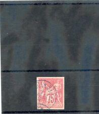 MAYOTTE, FORERUNNER (YT 28)VF 1877 75c ROSE, ---ZI MAYOTTE 02APR91 $500