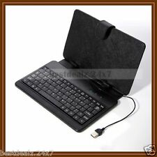 New Universal Keyboard PU Leather Cover Case Stand for Blackberry Playbook