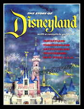 1955 Disneyland Guide Book Photo Magnet ~ Thin Flexible Glossy Fridge Magnet