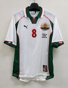 1998 BULGARIA Home S/S No.10 STIOTCHKOV 98 France WorldCup jersey shirt trikot